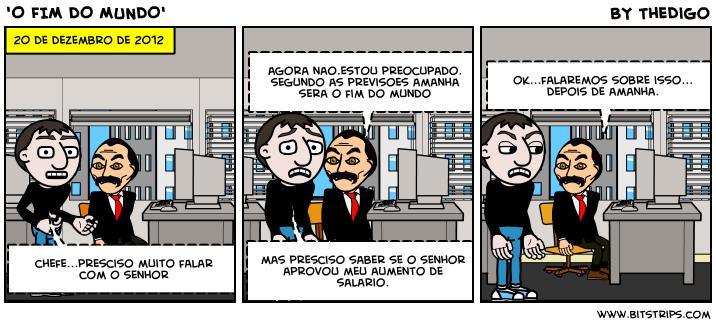 'O FIM DO MUNDO'