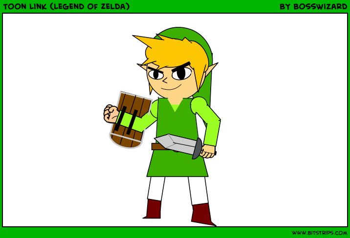Toon Link (Legend of Zelda)