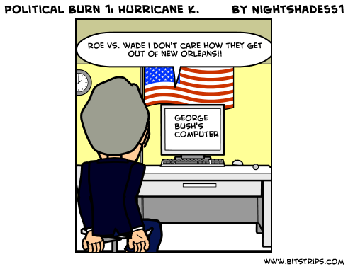 Political Burn 1: Hurricane K.