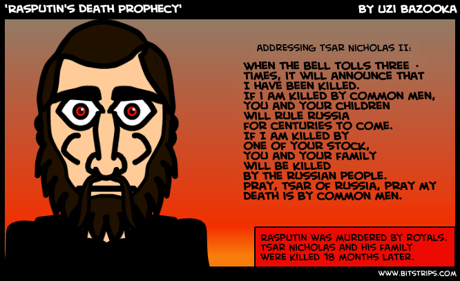 'Rasputin's Death Prophecy'