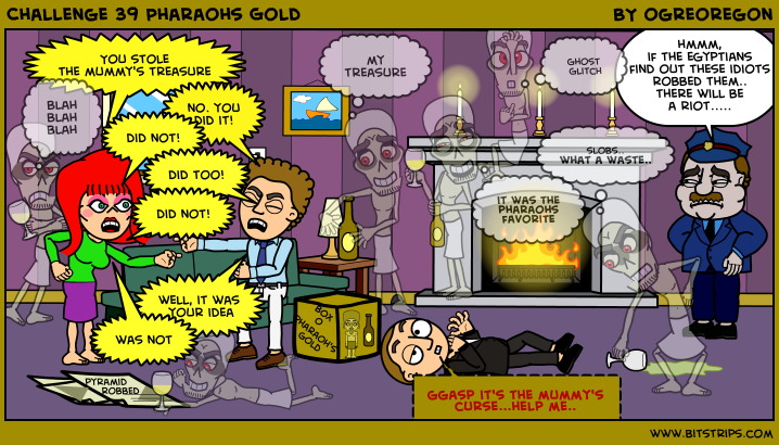 Challenge 39 Pharaohs Gold