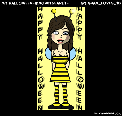 My Halloween-iknowitsearly- 