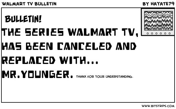 walmart tv bulletin
