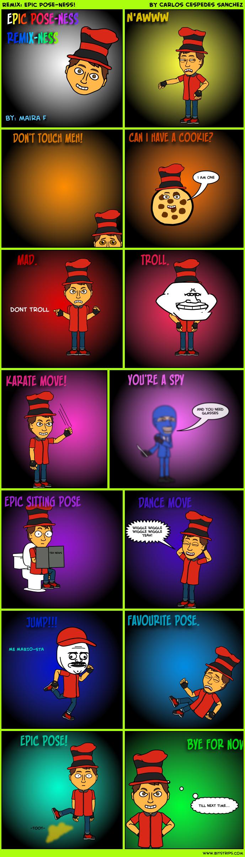 Remix: Epic Pose-Ness!