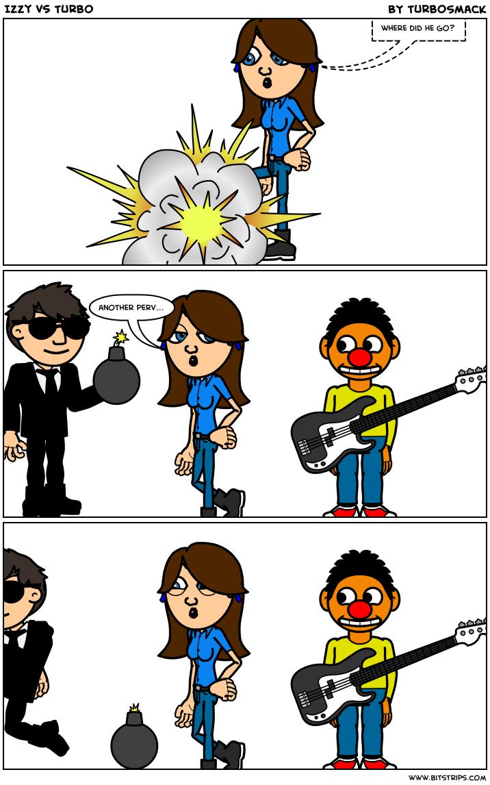 Izzy vs Turbo