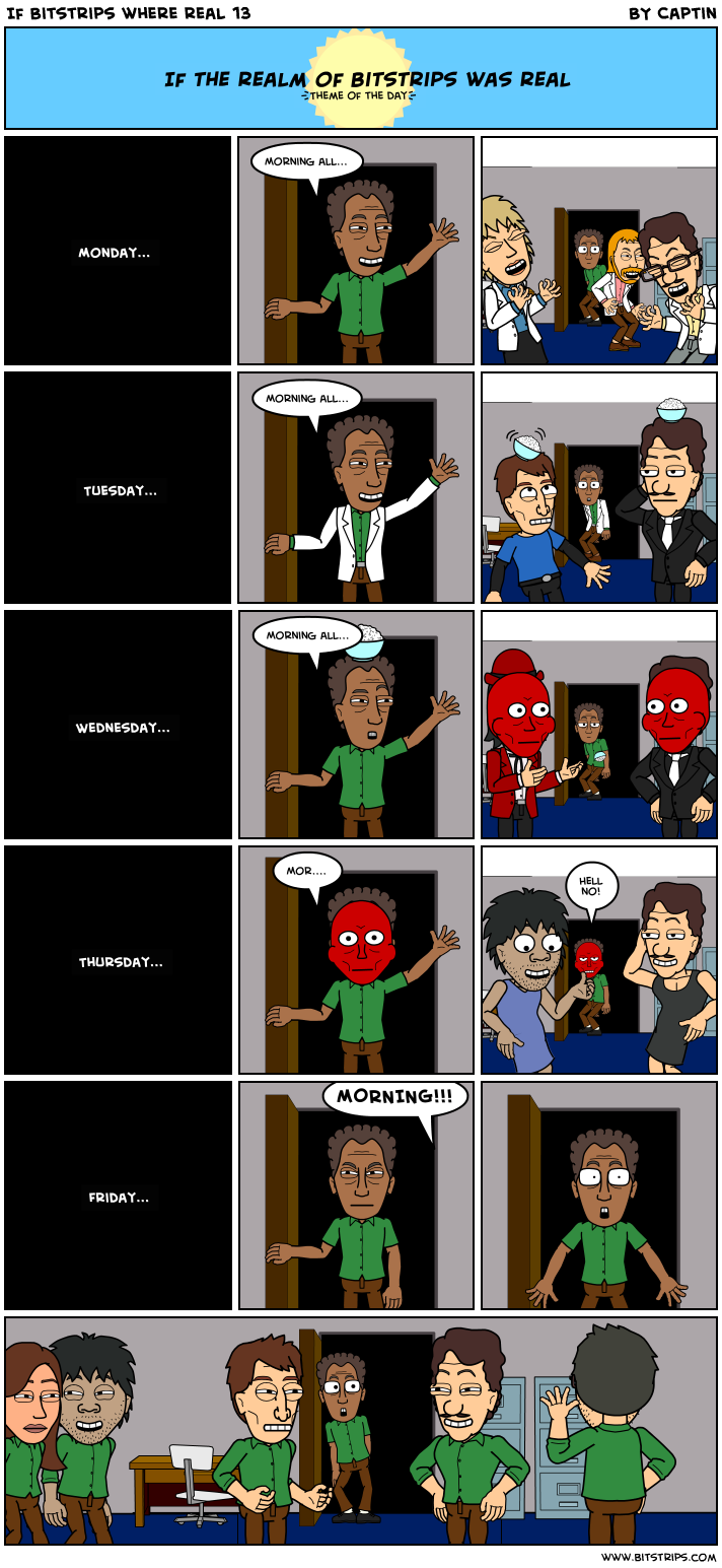 If Bitstrips where real 13
