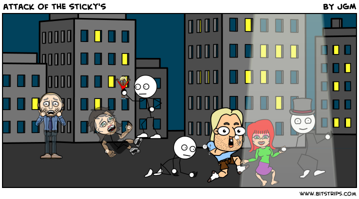 attack of the sticky's