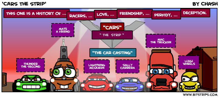 'CARS The Strip'