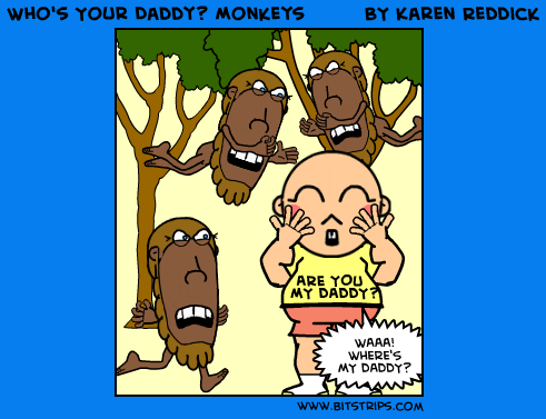 Who's Your Daddy? Monkeys