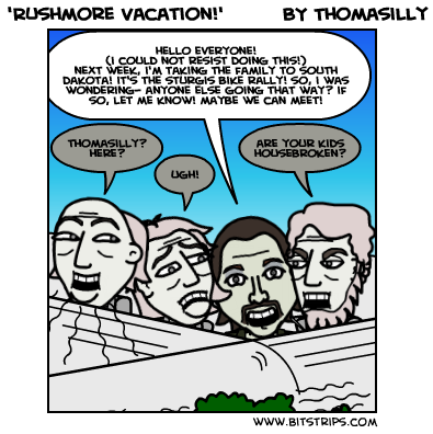 'Rushmore Vacation!'
