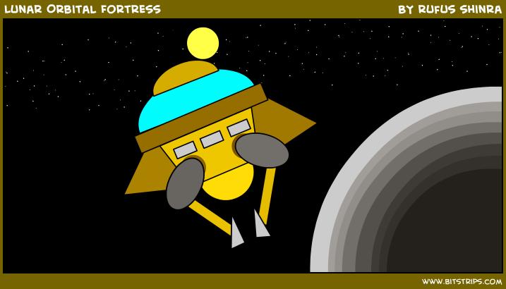 Lunar Orbital Fortress