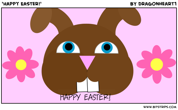 'Happy Easter!'