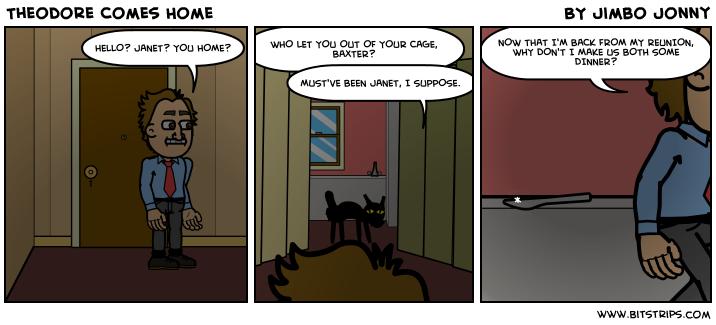 Theodore Comes Home