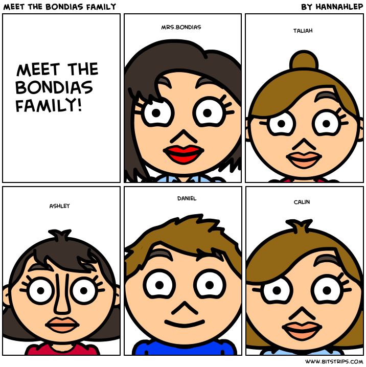 meet the bondias family
