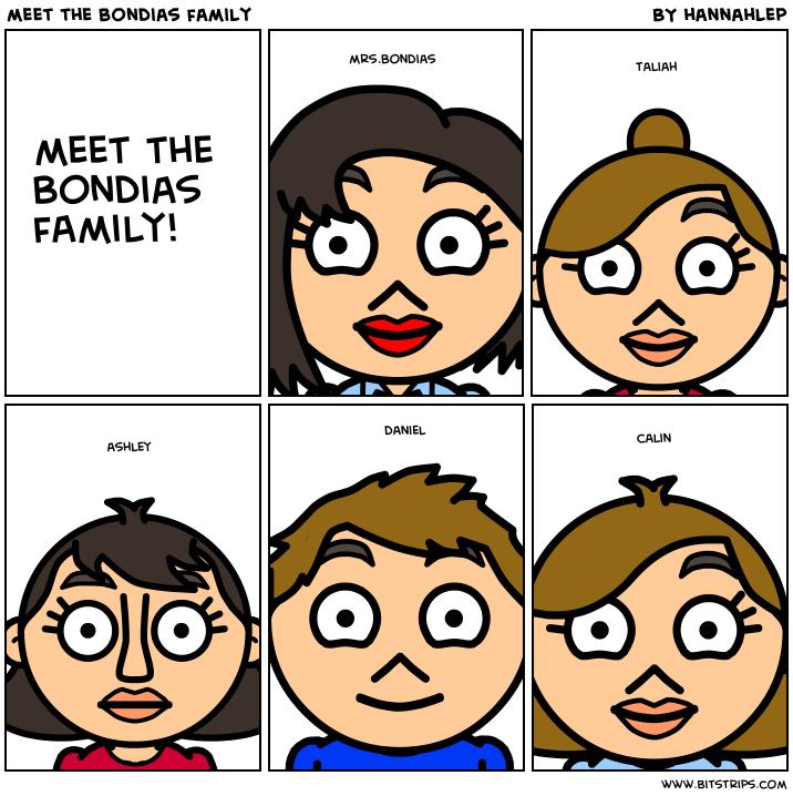 meet the bondias family