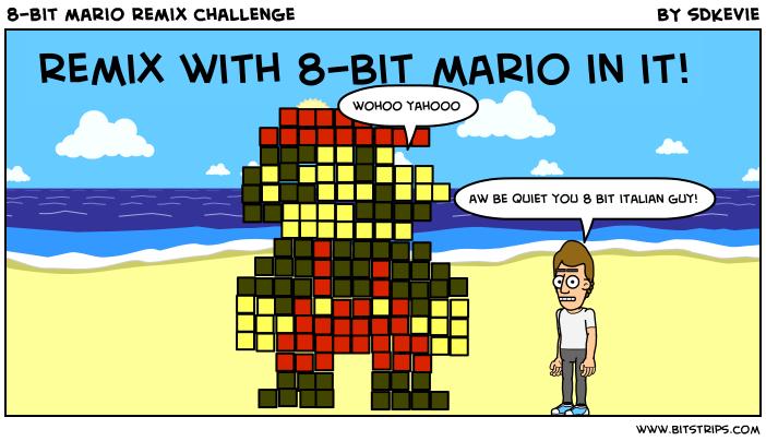8-bit mario remix challenge