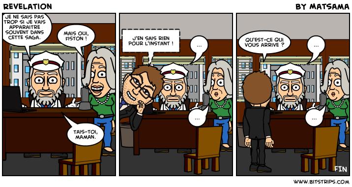 Le troisième strip