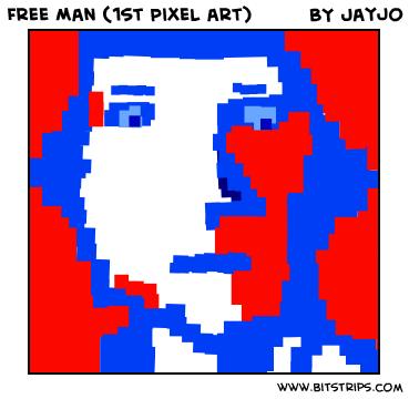 Free Man (1st Pixel art)