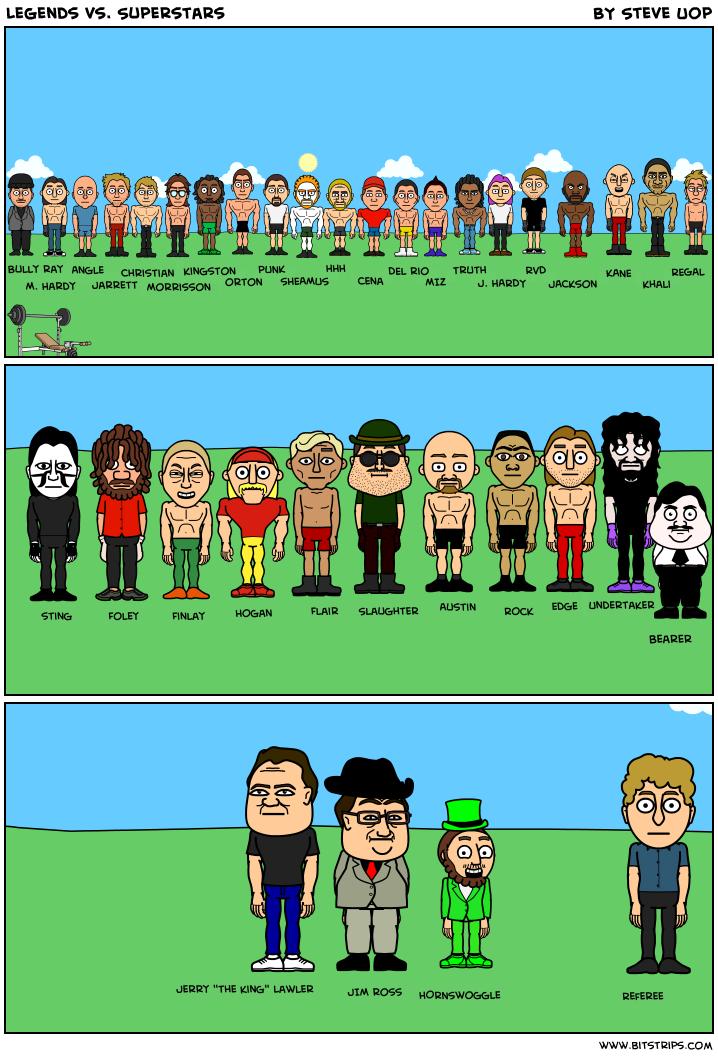 Legends vs. Superstars