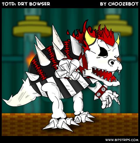 TotD: Dry Bowser