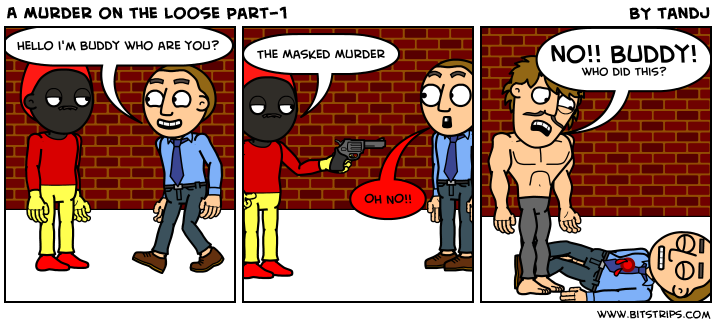 A Murder on the Loose Part-1