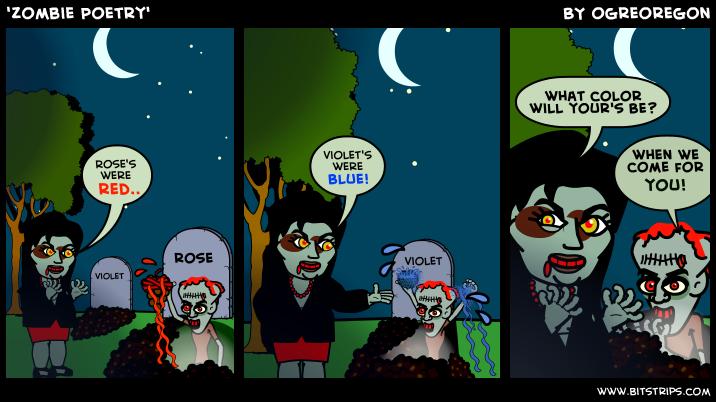 'Zombie Poetry'
