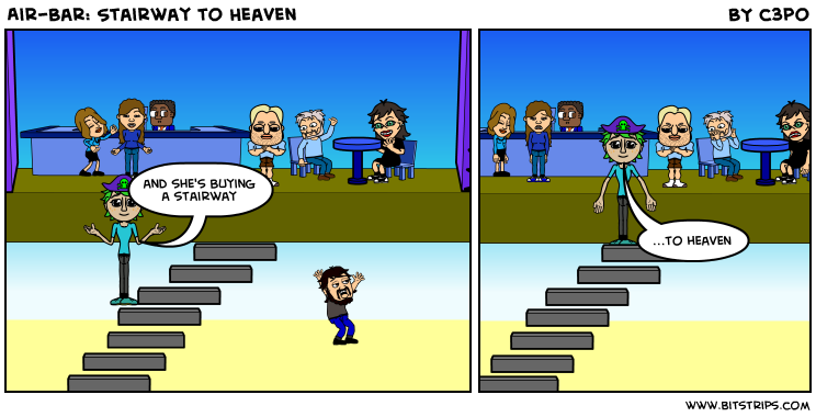 Air-Bar: Stairway to Heaven