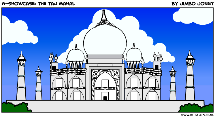 A-Showcase: The Taj Mahal