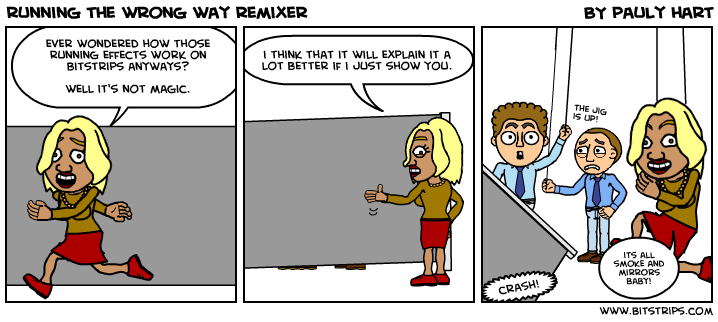 running the wrong way remixer