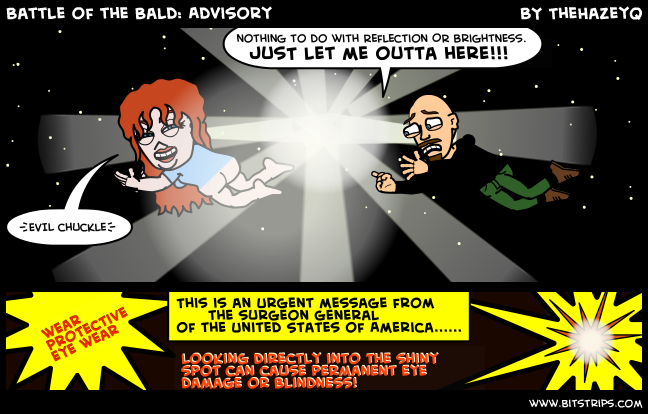 Battle of the Bald: Advisory