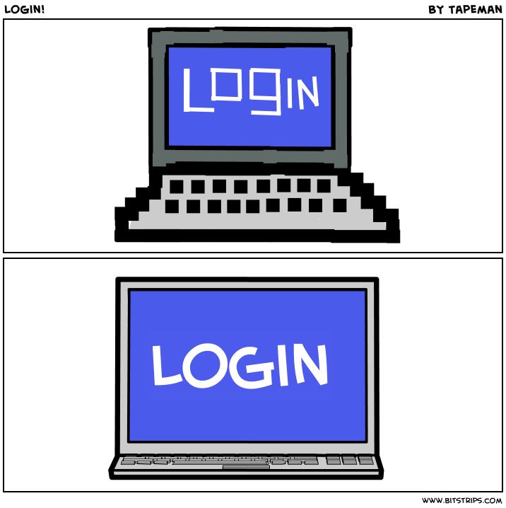 Login!