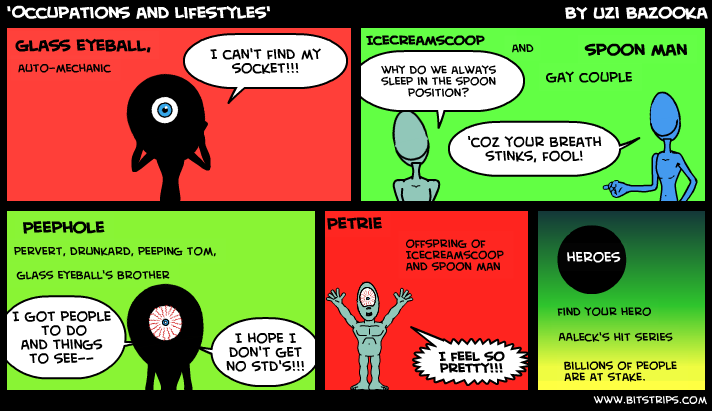 'Occupations and Lifestyles'