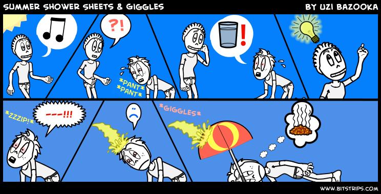 Summer Shower Sheets & Gig