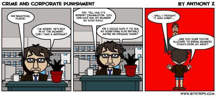 Crime and Corporate Punishment