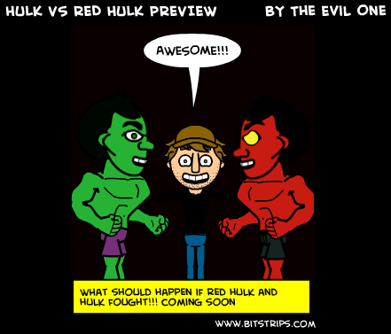 HULK VS RED HULK PREVIEW