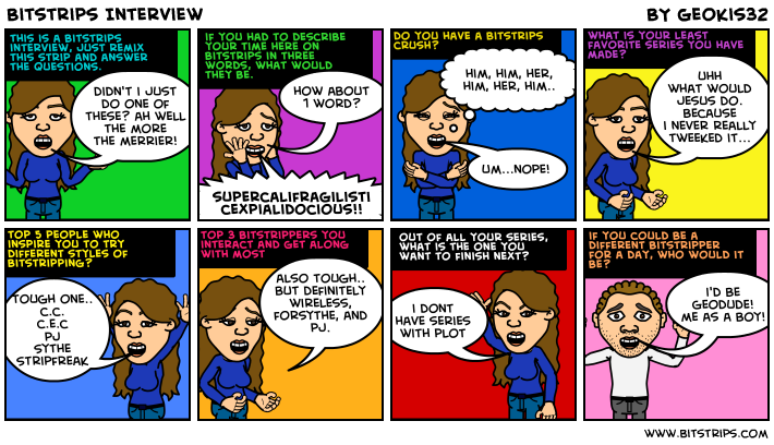 Bitstrips Interview
