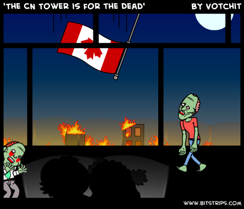 'The CN Tower is for the Dead'