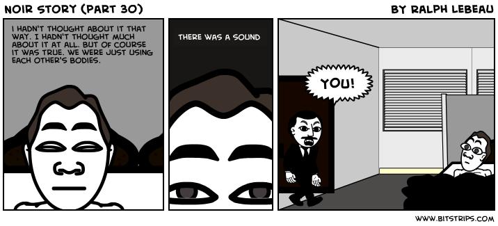 Noir Story (part 30)