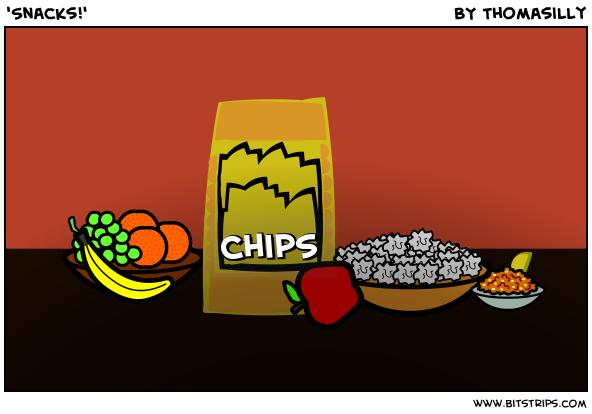 'Snacks!'