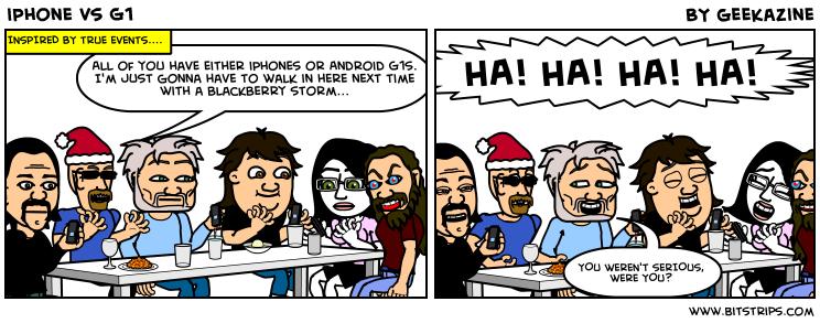 iPhone vs G1