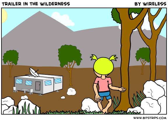 Trailer in the Wilderness