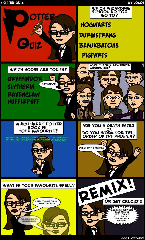 Potter Quiz