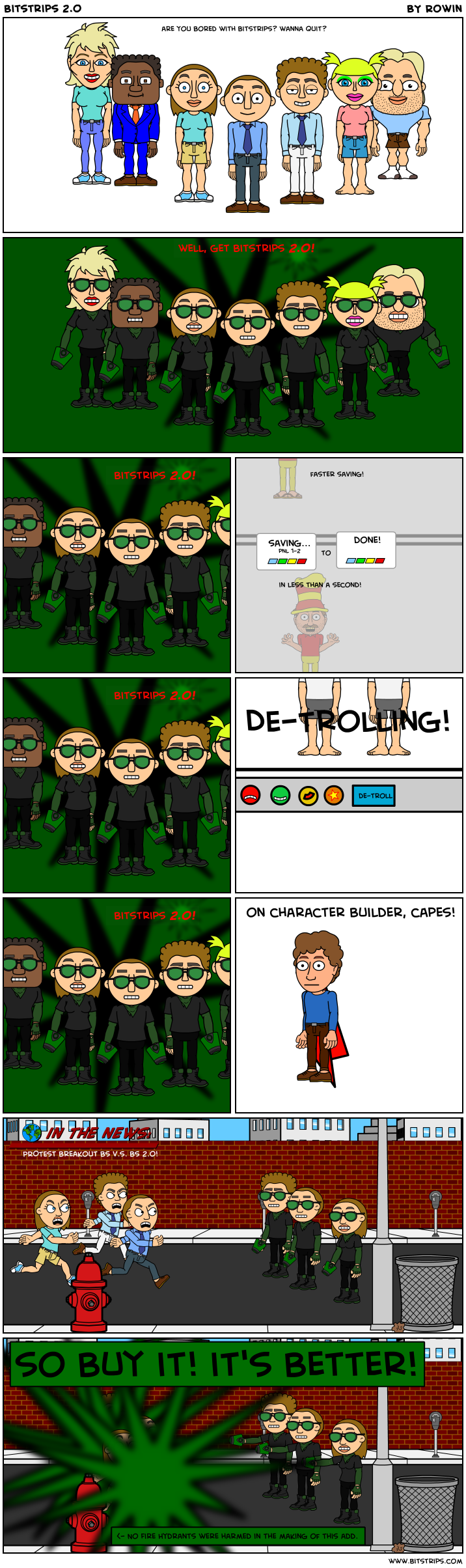 Bitstrips 2.0