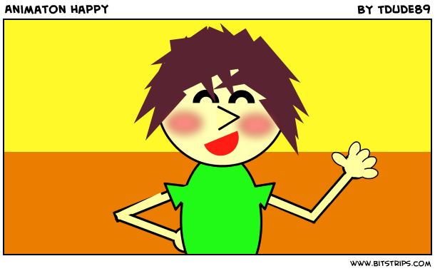 Animaton happy