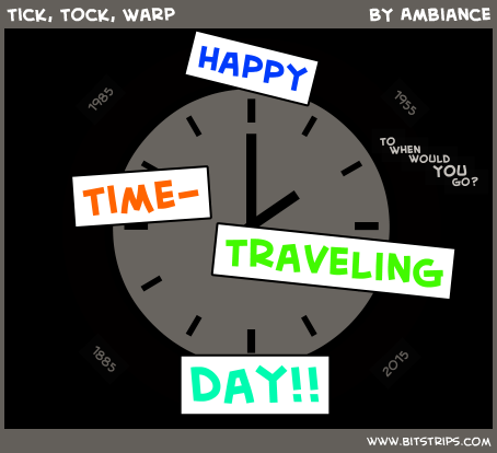 Tick, Tock, Warp