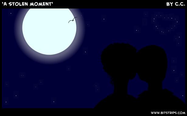 'A stolen moment'