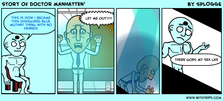 story of doctor manhatten'