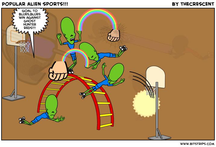 Popular alien sports!!!