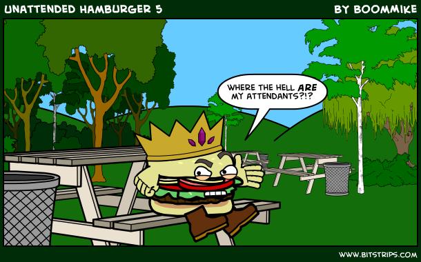 Unattended Hamburger 5