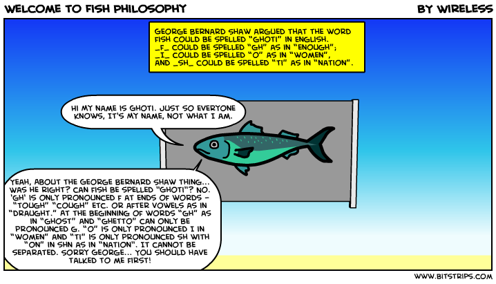 Welcome to Fish Philosophy